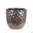 Berber Planter Lightening Pot 11.5 inch in Gold