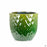 Berber Planter Lightening Pot 11.5 inch in Green