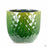 Berber Planter Lightening Pot 14 inch in Green
