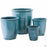 Thick Rim Cana Pot - 4 sizes in Teal