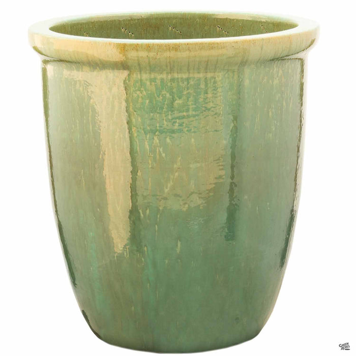 Thick Rim Cana Pot - Size 1 in Green