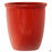 Thick Rim Cana Pot - Size 1 in Red