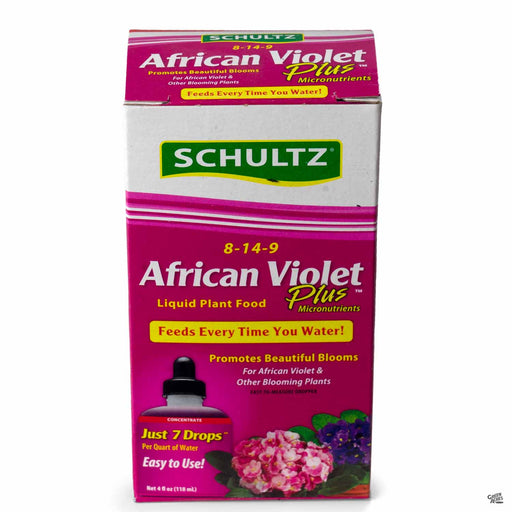Schultz African Violet Plus Plant Food 4 ounce