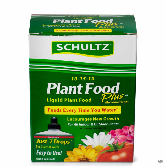 Schultz Liquid Plant Food Plus 8 ounces