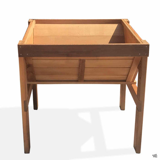 Cedar Raised Vegetable Bin