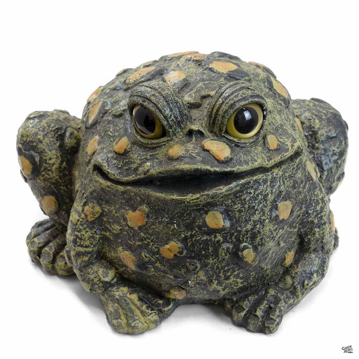 Toad Hollow Toad Figurine Large in Dark Natura