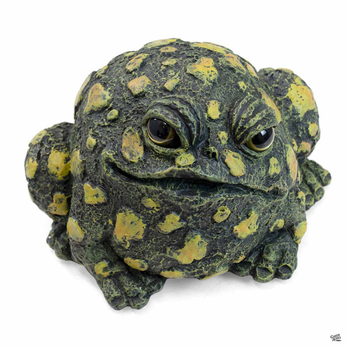 Toad Hollow Toad Figurine Medium in Dark Natural