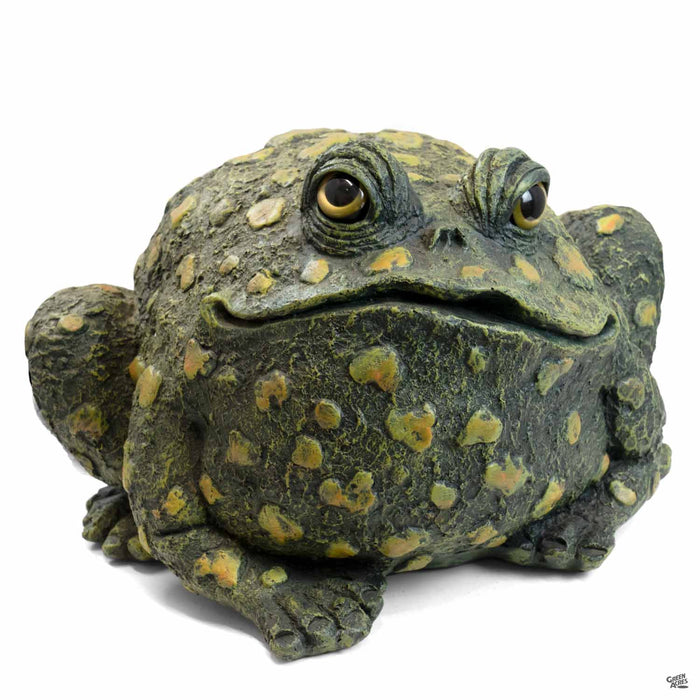 Toad Hollow Toad Figurine Extra-Large in Dark Natural