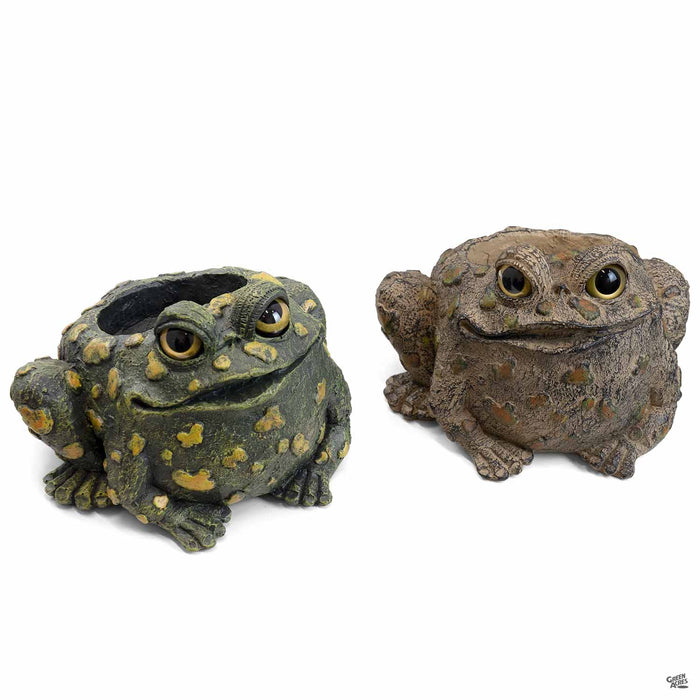 Toad Hollow Toad Planters 4 inch