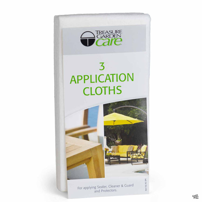 Treasure Garden Application Cloth 3-Pack