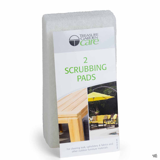 Treasure Garden Scrubbing Pads 2-Pack