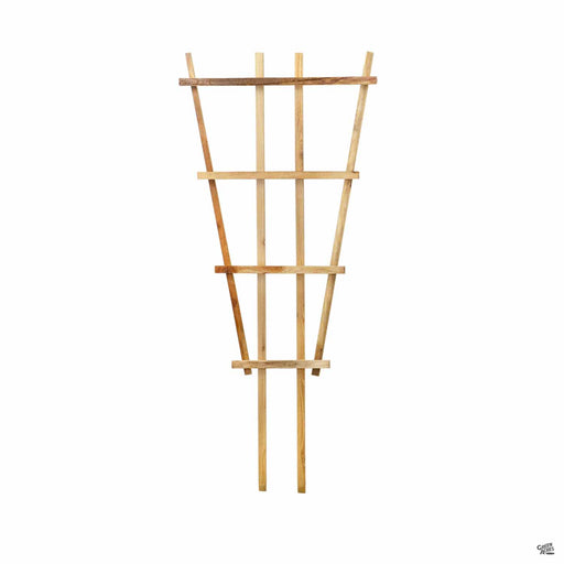 Cedar Fan Trellis 24 inches wide by 40 inches tall