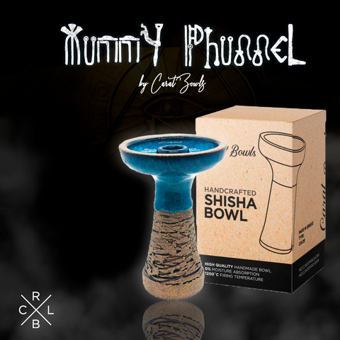 CARAT BOWL -  STONWEAR MUMMY PHUNNEL BLUE
