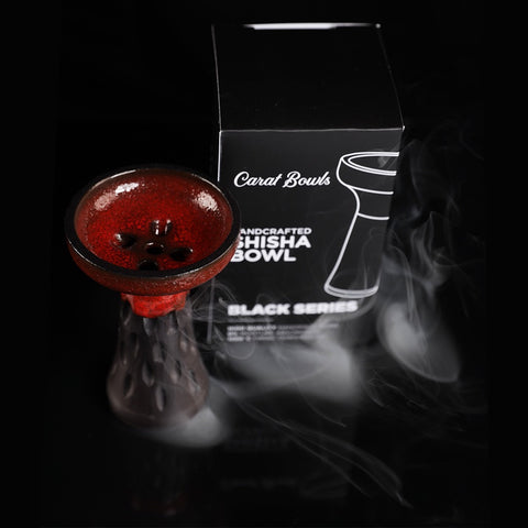 CARAT BOWL - BLACK CLASSIC RED