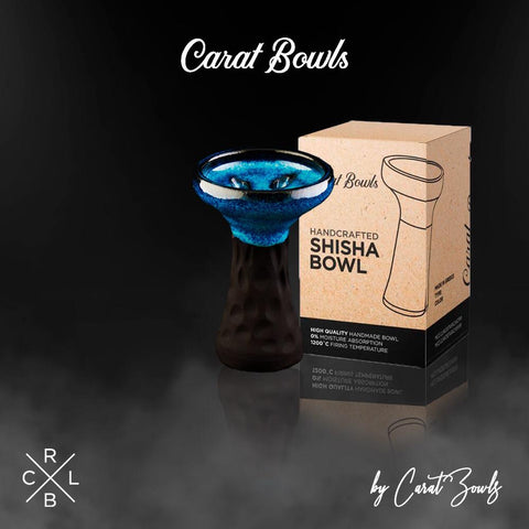 CARAT BOWL - BLACK SERIES KILLER BLUE