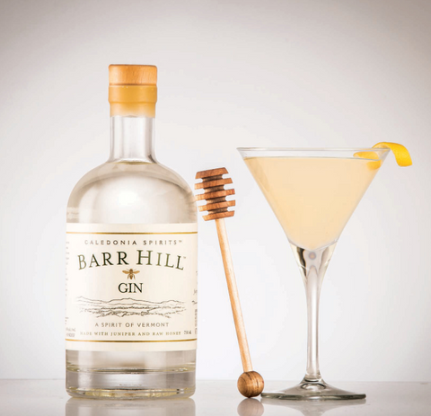 bee's knees cocktail recipe with Barr Hill Gin