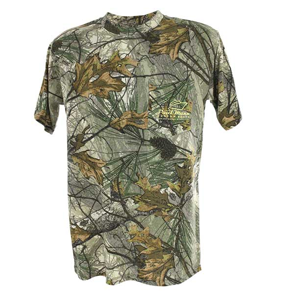 Men's Short Sleeve Advantage Camouflage T-Shirt with Pocket