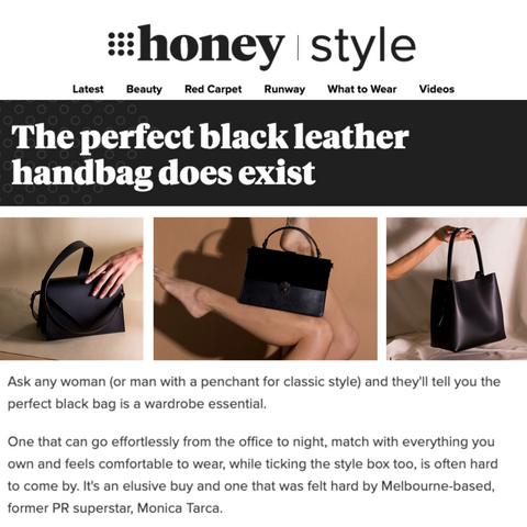 VESTIRSI IN 9 HONEY THE PERFECT BLACK LEATHER BAG DOES EXIST