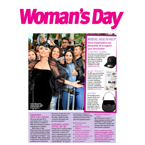 VESTIRSI Luxury Leather Bags in Woman's Day Magazine