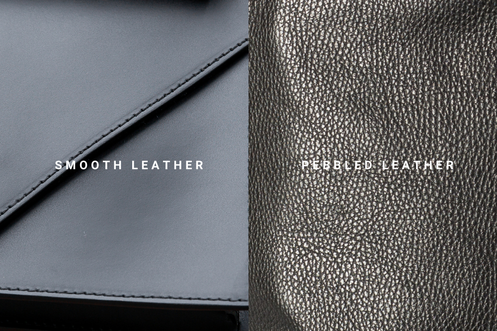 VESTIRSI SMOOTH PEBBLED LEATHER