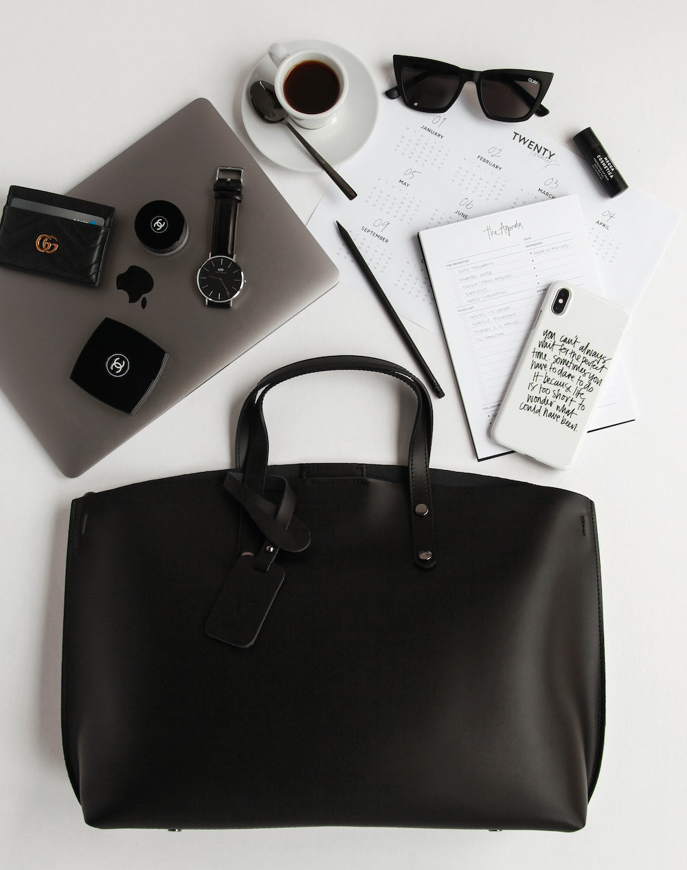 Working from home with Carissa Smart and the VESTIRSI Tonia tote
