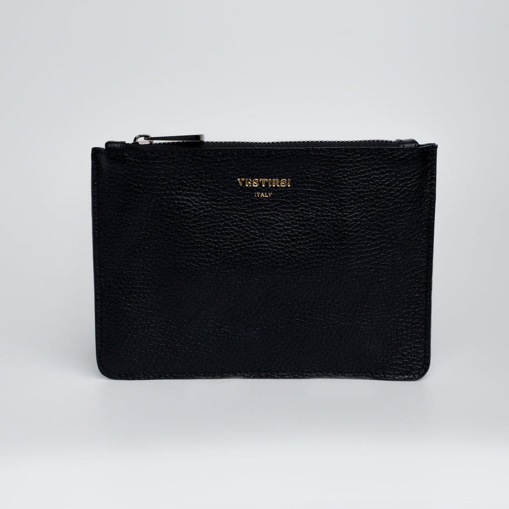 Phillipa Flat Pouch - Black - VESTIRSI