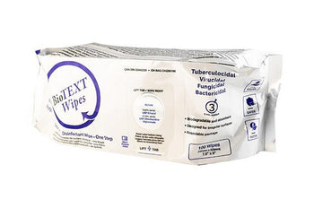 BioTEXT Disinfectant Wipes - 100/pkg