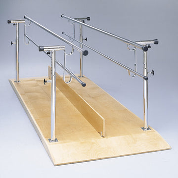 Platform Mounted Parallel Bars, 12'