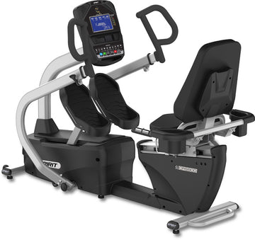 Spirit Fitness CRS800S Recumbent Stepper w/ Swivel Seat