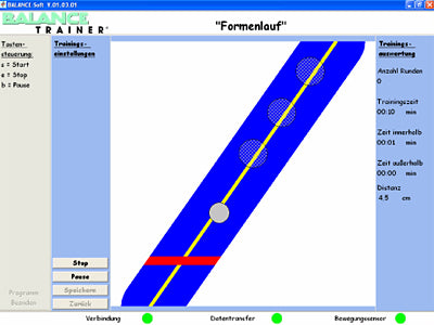 BALANCE-Soft Therapy Software for Balance Trainer