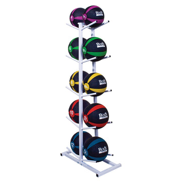 Double Sided Medicine Ball Rack