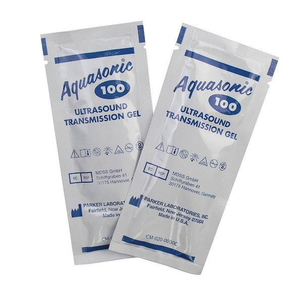 Sterile Aquasonic Ultrasound Gel 20gr Packets - 48/Box