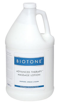 Lotion de massage Biotone Advanced Therapy - 1 gallon