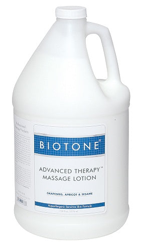 Biotone Advanced Therapy Massage Lotion - 1 Gallon