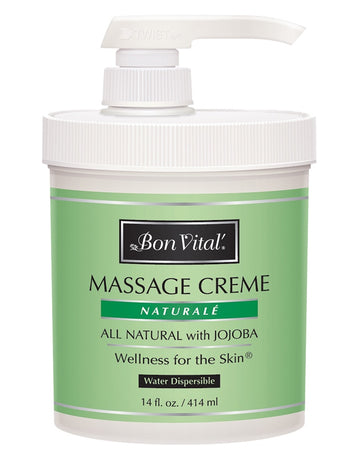 Bon Vital' Naturale Massage Creme - 1 Gallon
