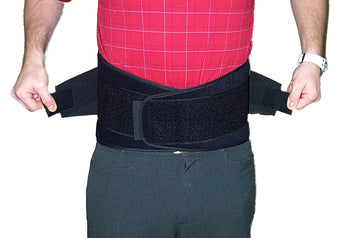 "Back Support, 9"" Wide with Velcro"