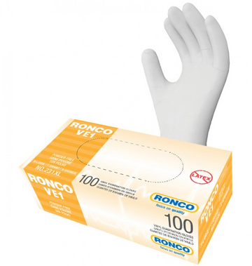 VINYL GLOVES - Clear 3mm - 100/box