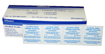 Alcohol Swabs 200/box
