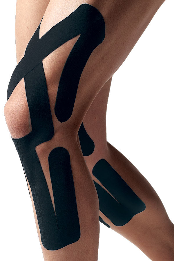 SpiderTech Full Knee Spider Precut Tape Clinic Pack (10), Specify Colour