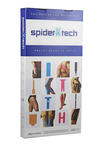 SpiderTech Left Shoulder Precut Tape Clinic Pack (10), Specify Colour