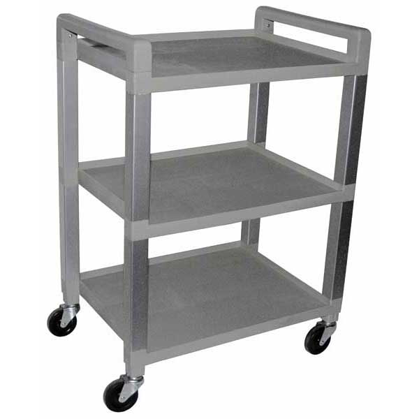 Poly Cart, 3 shelf - Grey or White