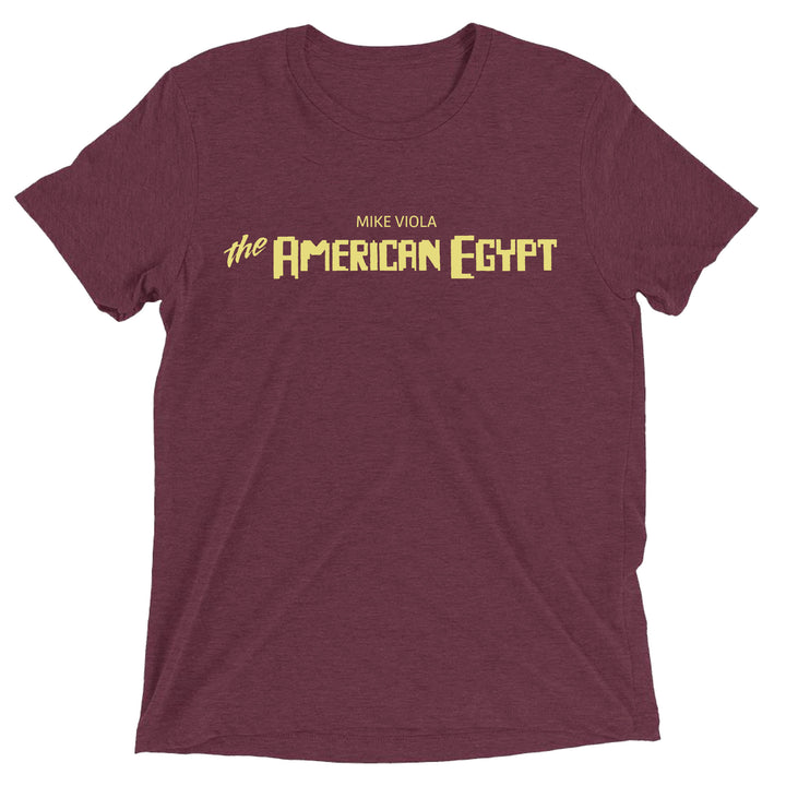 The American Egypt by Mike Viola Logo T-shirt