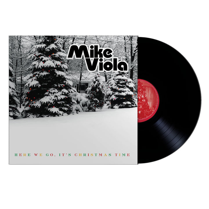 "Here We Go, It's Christmas Time by Mike Viola 7"" Vinyl"
