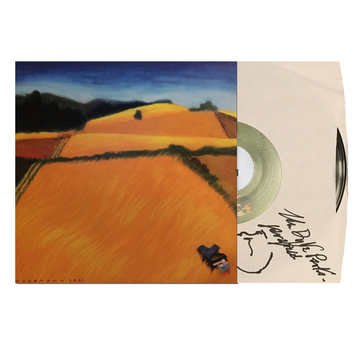 "Van Dyke Parks Autographed The All Golden/Sassafrass 7"" Vinyl"