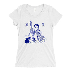 2% Milk by Alex Lilly Album Cover Womens T-Shirt