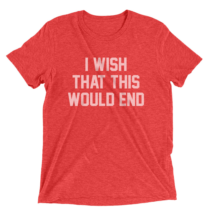 Trapper Schoepp - I Wish That This Would End Shirt