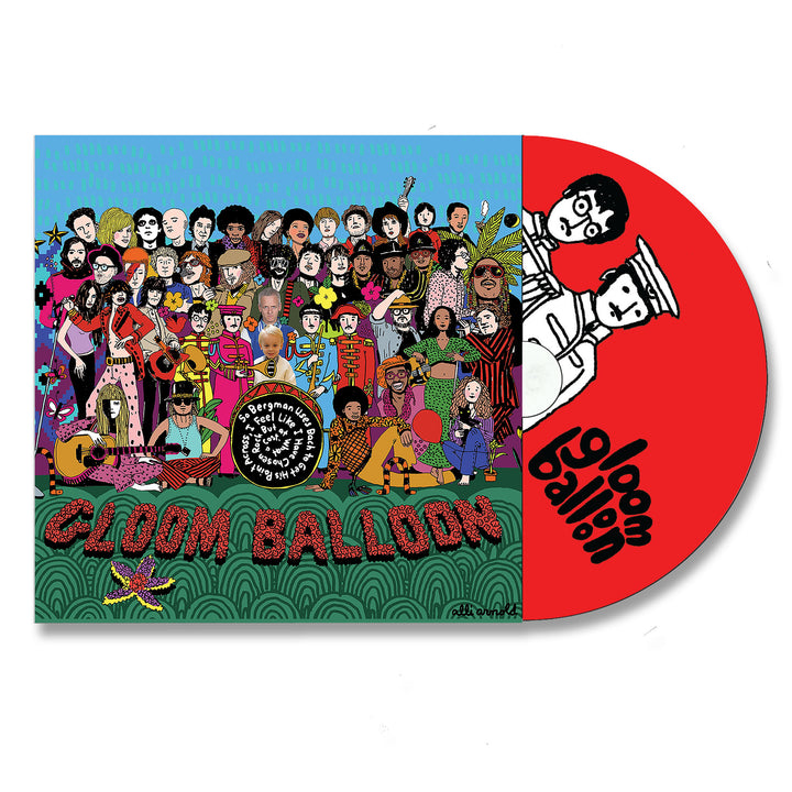 Gloom Balloon - So Bergman Uses Bach... [CD]