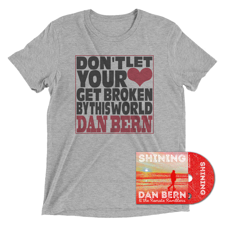 Dan Bern - Don't Let Your Heart Get Broken By This World [CD+ T-SHIRT]