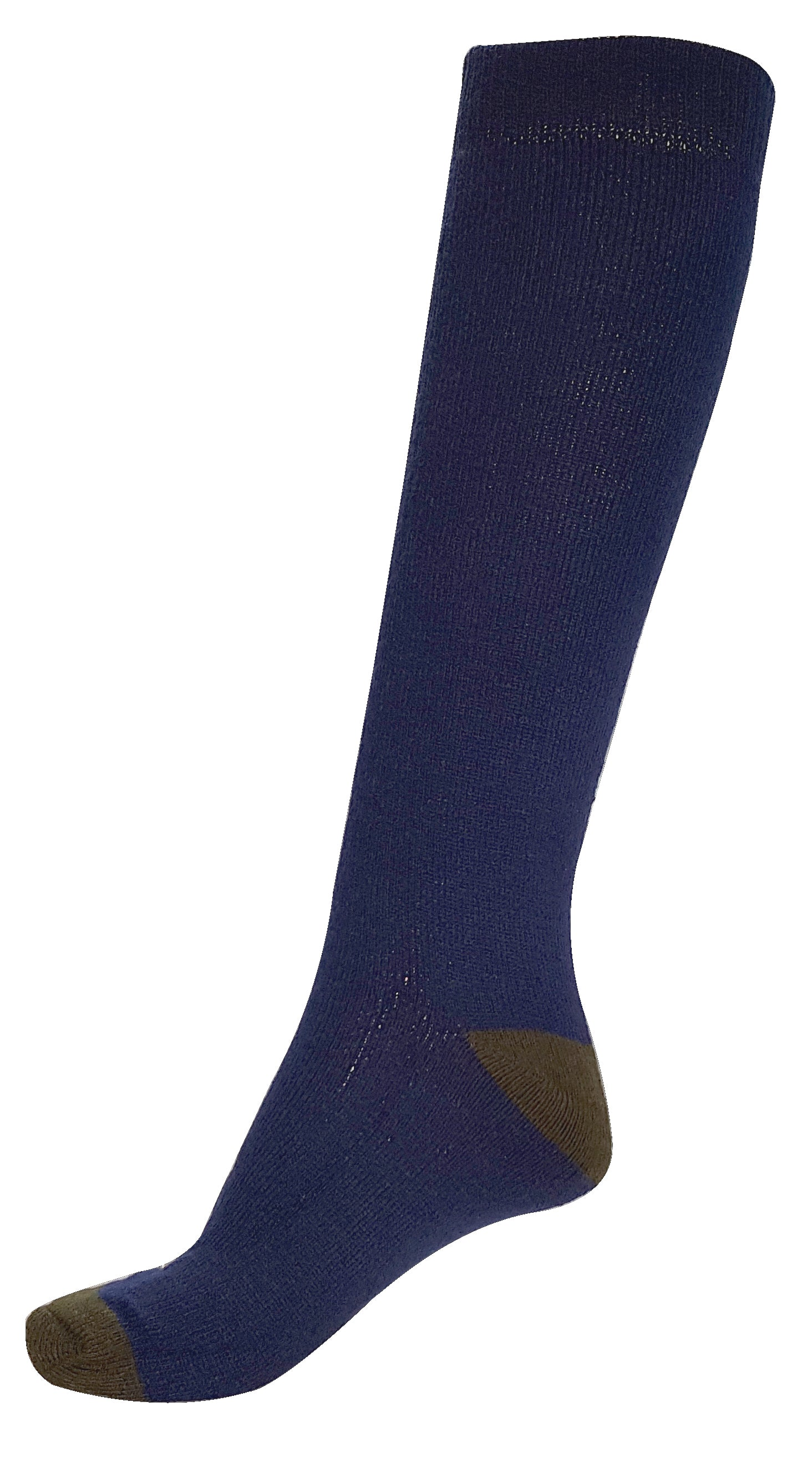 OCTAVE Mens Wellington Wellie Boot Socks - Contrast Heel & Toe