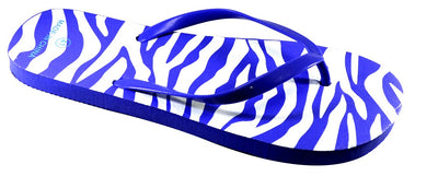 Zebra Design - Blue